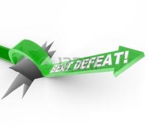 beat defeat